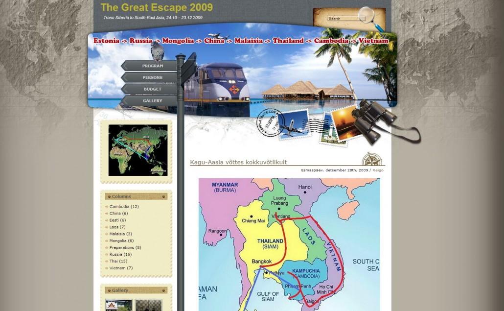 Siber ja Kagu-Aasia 2009