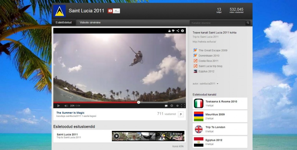 Saint Lucia 2011 youtube