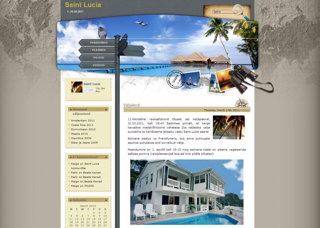 Saint Lucia reisiblogi