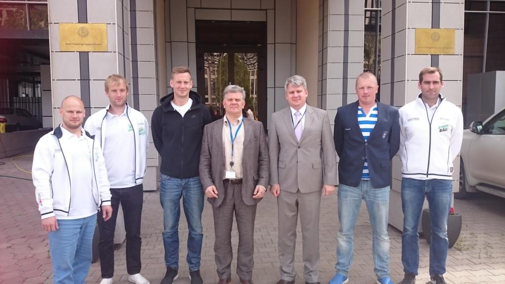 Suursaadik koos Eesti 3x3 Korvpalli Liiduga