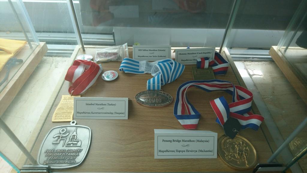 Eesti medal maratoni muuseumis