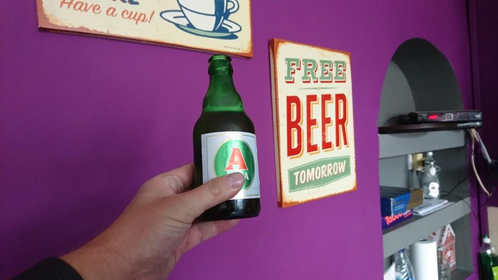 Homme saab tasuta õlut!