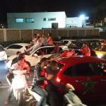 Maroko liiklus peale MM-ile pääsemist