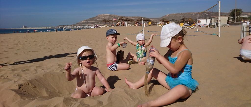 Milleks mänguasjad, kui on rand ja liiv?
