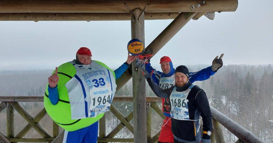 Tartu Maraton 2021. Korvpalliga.